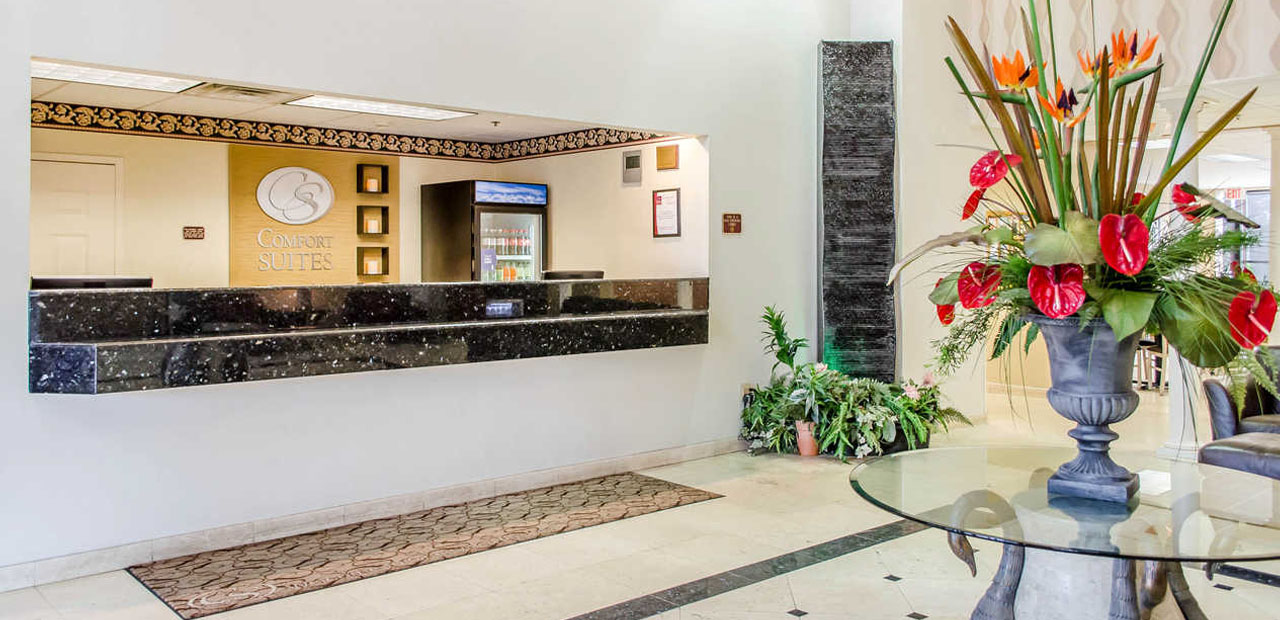 Inviting Hotel Exterior Friendly Welcome Area